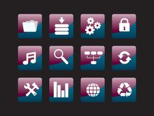 Free Web Icon Set Stock Images - 8156534