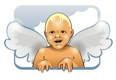 Free Child With Wings Stock Images - 8156634