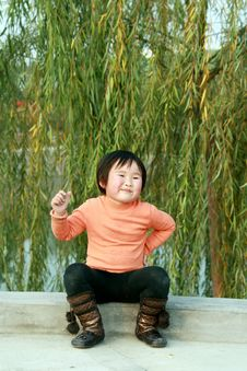 Free Chinese Children Royalty Free Stock Image - 8157146