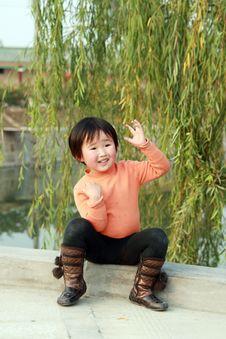 Free Chinese Children Stock Image - 8157151