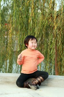 Free Chinese Children Stock Photography - 8157152