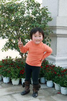 Free Chinese Children Royalty Free Stock Photo - 8157155