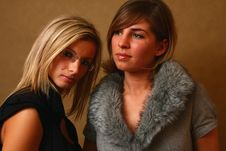 Free Two Young Female Friends Royalty Free Stock Photography - 8157727