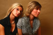 Free Two Young Women Stock Photos - 8157903