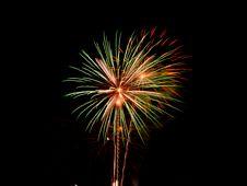 Free Fireworks On Black Stock Photos - 8159703