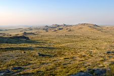 Free Steppe With Rocks Stock Photos - 8159733