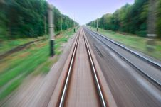 Free Movement Railway Royalty Free Stock Photos - 8159928