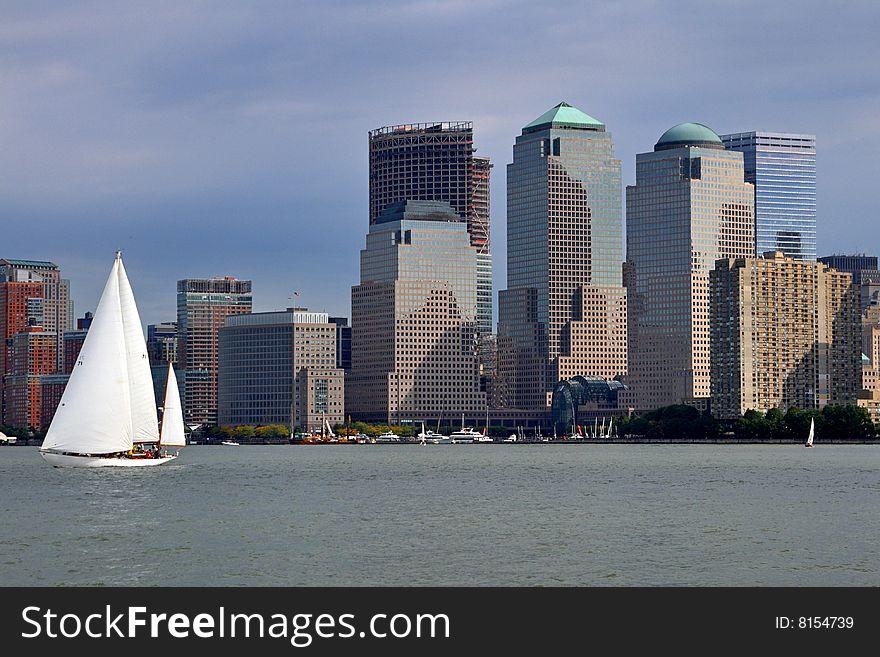 Sail Boats & NYC