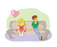 Free In Love Pair Royalty Free Stock Image - 8160426