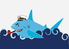 Free Happy Shark Royalty Free Stock Photos - 8160458
