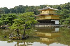 Free Kinkaku-ji Royalty Free Stock Photos - 8160658