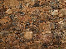 Free Wet Stony Wall Royalty Free Stock Photography - 8161517