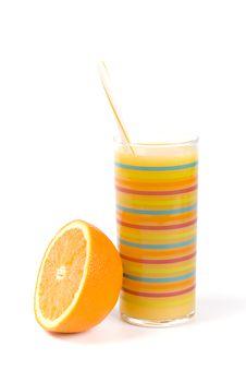 Free Orange And Juice Stock Photos - 8161683