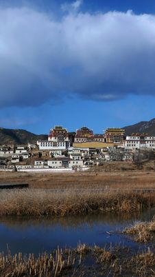 Free Tibet Landscapes Royalty Free Stock Photography - 8162407