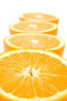 Free Fresh Oranges Halves Stock Photo - 8162800