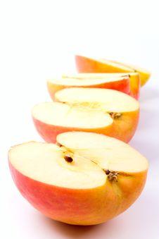 Free Apples Halves Royalty Free Stock Image - 8162816