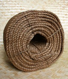 Free Rope Coil Stock Photography - 8162842