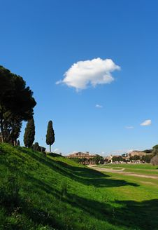 Rome Circo Massimo Royalty Free Stock Image