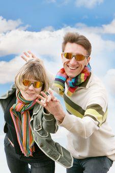 Free Happy Couple Stock Photography - 8163802