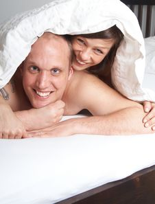 Free Under The Sheets Stock Images - 8164274