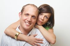 Free Cute Couple Royalty Free Stock Photography - 8164337