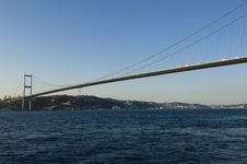 Free Bosphorus Bridge Royalty Free Stock Image - 8164446