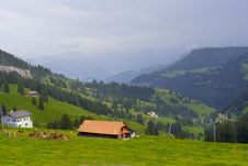 Free Swiss Alps In Summer Royalty Free Stock Image - 8164816