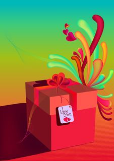 Free Gift Box Royalty Free Stock Images - 8165409
