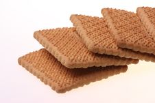 Free Delicious Crunchy Biscuits. Royalty Free Stock Photo - 8165815
