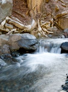 Free Waterfall, Troodos Cyprus Stock Images - 8166374