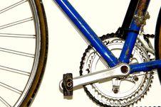 Free Blue Bicycle Royalty Free Stock Image - 8167036