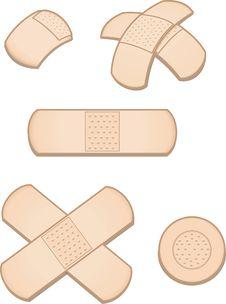 Free Variety Of Bandages Royalty Free Stock Photo - 8167775