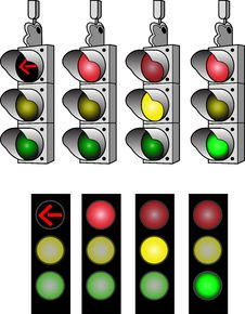 Free Stop Lights Stock Photos - 8167823