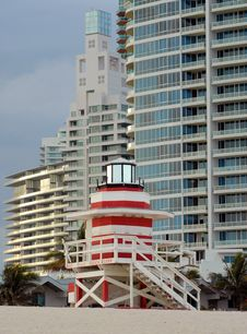 Free Miami Beach Royalty Free Stock Photo - 8168585