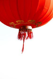 Free Red Lantern Royalty Free Stock Photo - 8168895