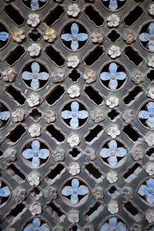 Free Window Lattice Royalty Free Stock Photos - 8168958