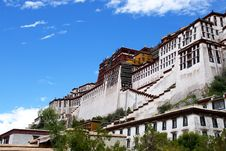 Free Tibet Potala Palace Royalty Free Stock Photos - 8169708