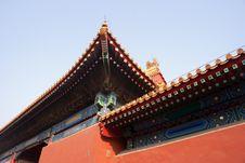 Free Forbidden City Corner Stock Image - 8169781