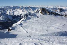 Free Austria. Mountains. The Alpes. Royalty Free Stock Photography - 8169917