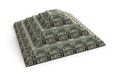 Free Financial Dollar Pyramid Royalty Free Stock Photos - 8169948
