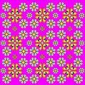 Free Retro Floral Wallpaper Royalty Free Stock Photos - 8178898