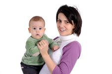 Free Mom And Little Baby Boy Stock Images - 8170194