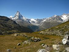 Free View Of Matterhorn Stock Images - 8170464