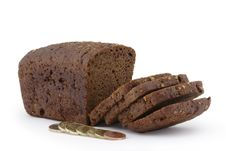 Free Rye Bread In Slices And Coins. Stock Photo - 8170540