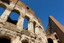 Free Rome Colosseum Royalty Free Stock Photography - 8170587