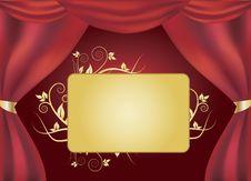 Free Magic Curtain Royalty Free Stock Photo - 8170775