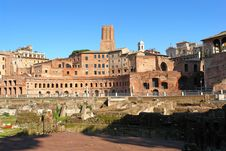 The Fori In Rome Royalty Free Stock Images