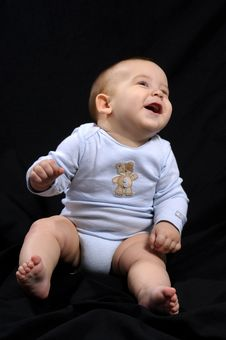 Beautiful Baby Boy Royalty Free Stock Photos