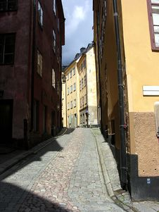 Free Streets Of Stockholm Stock Image - 8170941
