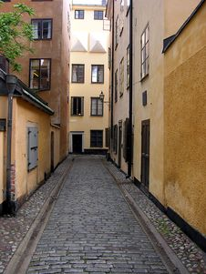Free Streets Of Stockholm Royalty Free Stock Images - 8170989